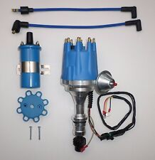 small cap OLDSMOBILE 350,400,403,455 PRO SERIES BLUE HEI Distributor+ 45K Coil
