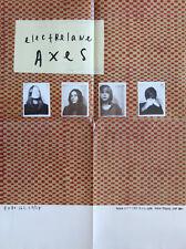 """Electrelane Poster - """"Axes� - Indie Rock"""