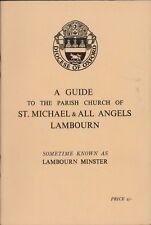 Guide Parish Church of Saint Michael All Angels Lambourn Minster     HL7.685