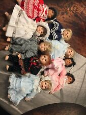 Fritz's Basket babies by Gustave Wolff-set of 9