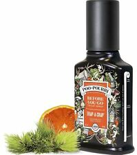 POO-POURRI Before-You-Go Bathroom Toilet Odor Neutralizer Spray Trap-A-Crap 4 oz