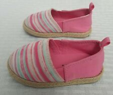 Koala Kids Slip On Girls Pink Turquise Slide Casual Spring Shoes Toddler Size 4