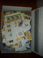 1 Schuhkarton Sondermarken/Wohlfahrstmarken auf Papier