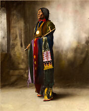 "1899 Chief Wolf Robe Cheyenne 11""x14"" Native American Indian Wall Art Poster"