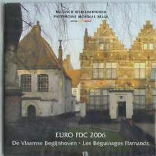 Belgie BU set 2006 / 1 cent - 2 euro KMS : Belgisch Werelderfgoed Begijnhoven