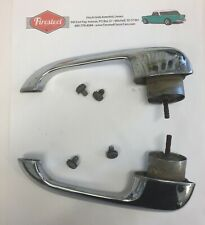 """1955 1956 1957 Chevy USED PAIR Exterior DOOR HANDLES  SEDAN   """"B"""""""