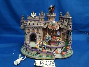 Lemax Spooky Town Halloween Party #85669 As-Is EB228