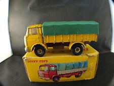 Dinky Toys F n° 584 camion bâché GAK BERLIET en boite