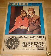 RECORD MIRROR 19 OCTOBER 1968 PETER NOONE MARY HOPKIN JOE COCKER DON PARTRIDGE