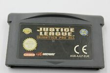 NINTENDO GBA GAME BOY ADVANCE JUSTICE LEAGUE INJUSTICE FOR ALL CARTUCHO PAL EUR