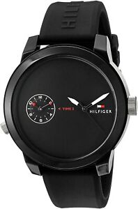 Tommy Hilfiger 1791326 Sport Silicone Strap Men's Watch