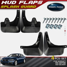 NEW 4pcs Front and Rear Splash Guards Mud Flaps for BMW F10 5 Series 2011-2016
