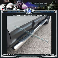 MERCEDES VITO SIDE BARS STEPS CHROME 2003+ONWARDS with 4 STEPS NEW EXTRA LONG