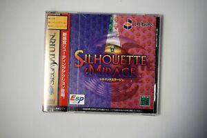 sega saturn Silhouette Mirage Japan SS game US Seller