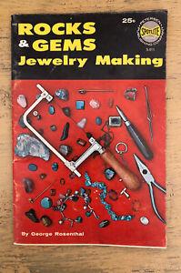 Vintage Rocks And Gems Jewelry Making Booklet George Rosenthal Spotlite
