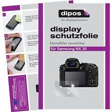 6x dipos Samsung NX30 klare Displayschutzfolie Crystalclear unsichtbar passgenau