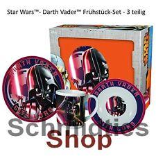 Star Wars™- Darth Vader™ Frühstück-Set - 3 teilig
