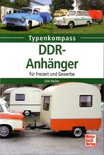 Book - East German Caravans Trailer Tents Trailers - DDR Anhanger Wohnwagen