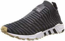 Adidas EQT Soporte Calcetín Primeknit Damas Core Negro/Carbono/GOMA ZAPATOS TALLA 9.5