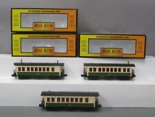 MTH 30-6410 O Pennsylvania Overton Illuminated Passenger Car Set (Set of 3)/Box