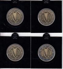 Irlanda 2 euro 2002 hasta 2005-lot rumbo monedas banco frescos