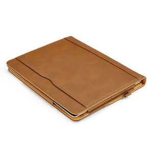 iPad Pro 12.9 4th Gen Case Soft Leather Magnetic Smart Cover Wallet for Apple