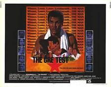 THE GREATEST original 1977 22x28 BOXING movie poster MUHAMMAD ALI