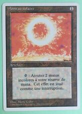 MTG MAGIC Carte ANNEAU SOLAIRE ext. REVISED 3rd Édition FWR 1994 FRENCH
