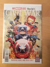 CIVIL WAR 1 MINIATURES, NM+ (9.6 - 9.8), SAN DIEGO COMIC CON SDCC VARIANT