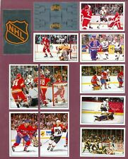 1989-90 PANINI STICKERS FOIL NHL HOCKEY CARD 1 TO 187 SEE LIST