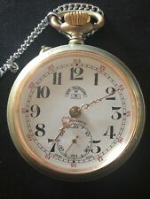 Pocket Watch Roskopf Patent 1890 Working Perfect
