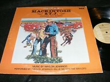 MACKINTOSH & T.J. Scare Outlaw Country SOUNDTRACK LP Waylon Jennings ROY ROGERS