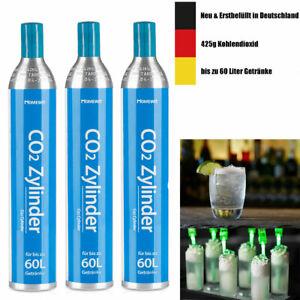 3x CO2 Kohlensäure Füllung Tausch-Zylinder für SodaStream / Tauschbox 425g