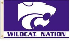 Kansas State Wildcats Nation Premium 3x5 Flag w/grommets House Banner University
