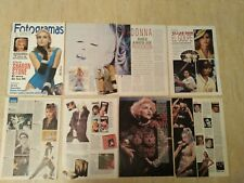 Madonna clippings Magazine years 90 Spain
