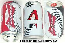 2013 ARIZONA DIAMONDBACKS BASEBALL BUDWEISER KING BEER CAN BALL MLB BUD PHOENIX