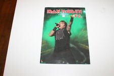 Iron Maiden Fan Club Magazine 96 Heavy Metal FC Book Fanclub C108