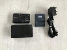Canon PowerShot SX210 IS 14.1MP Digital Camera - Black & 8GB SD CARD