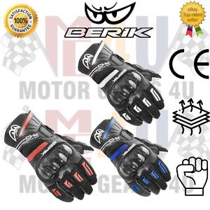 Berik Short-X Motorcycle Biker 2.0 Uncompromising Safety Sport Gloves