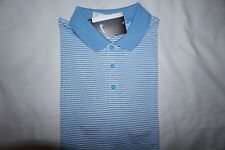 1af874159fb07 NIKE GOLF POLO SHIRT SMALL DRI-FIT LIGHT BLUE/WHITE SHORT SLEEVE STANDARD  FIT