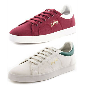 Fred Perry Men's NEW Sidespin Canvas Fashion Sneakers Low Top Tennis Shoes