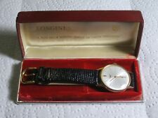 LONGINES 18K 750 SOLID GOLD MENS WATCH WITH ORIGINAL CASE