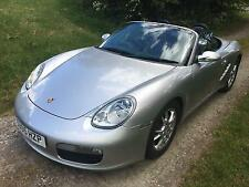 Porsche Boxster 2.7 Tip Auto 987 Roadster, 2005 05 in Silver with Black Leather
