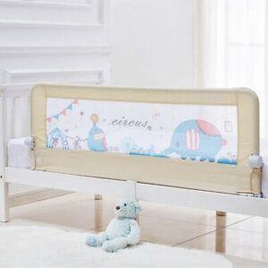 Baby Toddler Bed Rail 59 inch Guard Extra Long Foldable Safety BedrailCircus