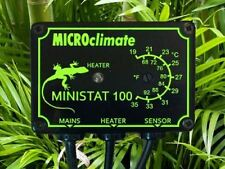 Microclimat Ministat 100 w on/off reptile vivarium thermostat de chauffage