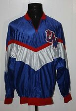 Vintage 80s Red Blue Warriors Basketball Pullover Shooting Shirt 48