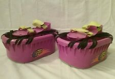 Vintage 1989 big time toys purple anti-gravity trampoline shoes hart