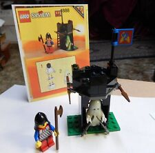 Vintage Lego #1888  Black Knights Guard Shack w Glow in Dark Ghost 1992 complete