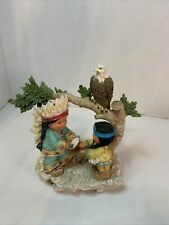 Frie 00004000 nds of the Feather figurines Ageless Wisdom, One In Spirit-(#1 Of 5000) 2000