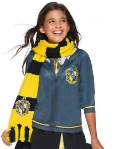 Hufflepuff Deluxe Scarf for Kids - Warner Bros Harry Potter